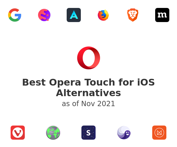 Best Opera Touch for iOS Alternatives