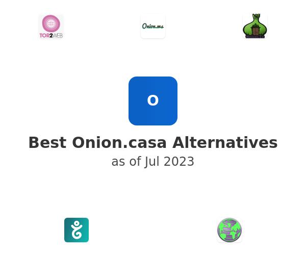 Best Onion.casa Alternatives