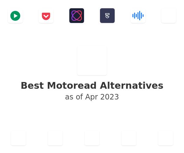 Best Motoread Alternatives