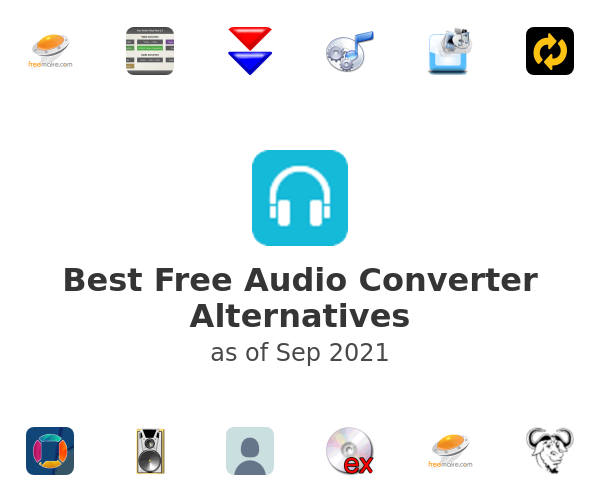 Best Free Audio Converter Alternatives