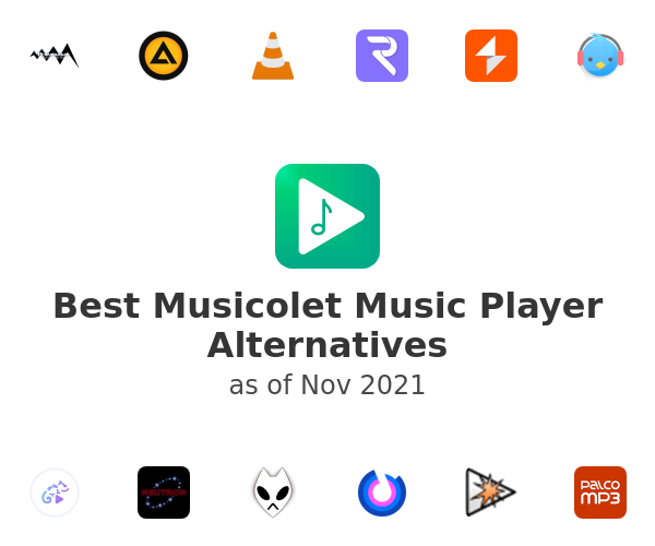 Best Musicolet Music Player Alternatives