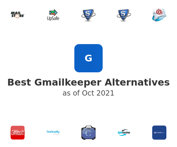 Best Gmailkeeper Alternatives