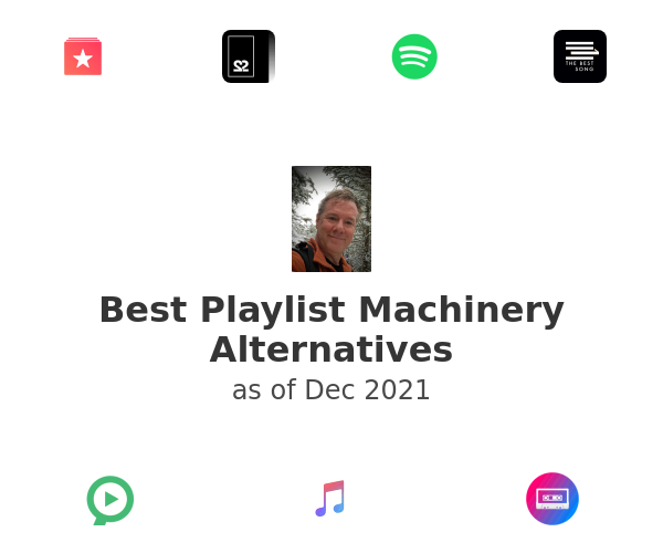 Best Playlist Machinery Alternatives