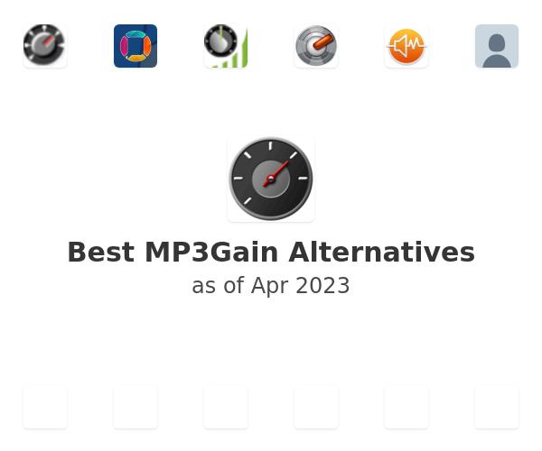 Best MP3Gain Alternatives