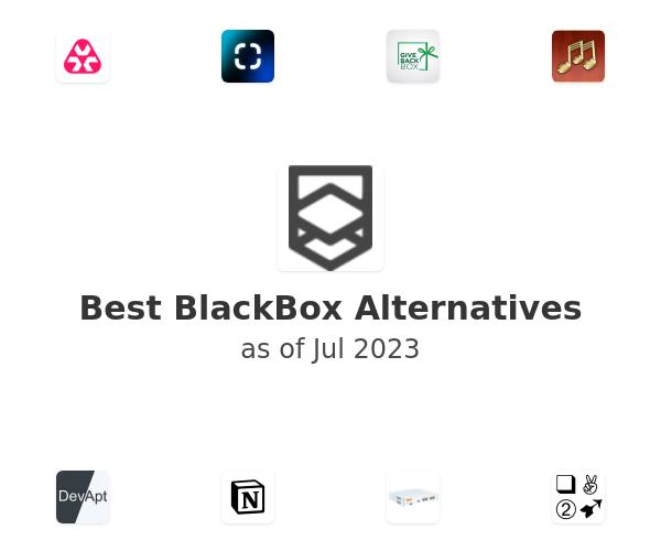 Best BlackBox Alternatives