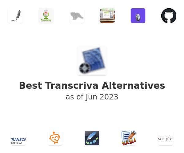 Best Transcriva Alternatives