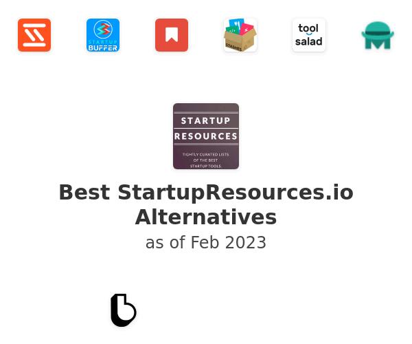Best StartupResources.io Alternatives