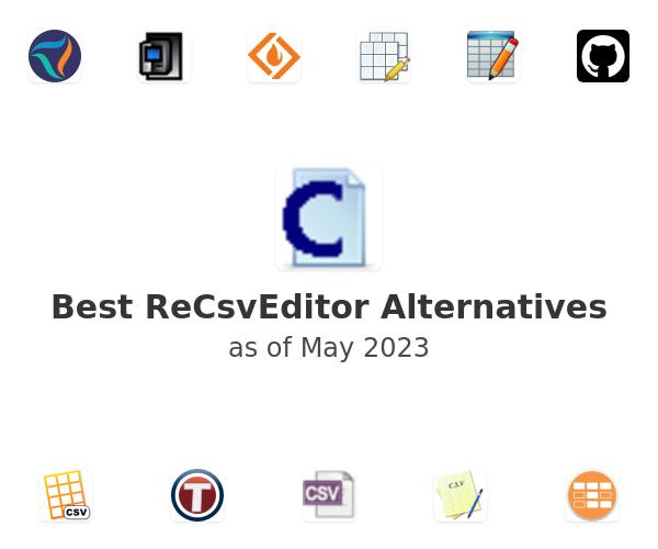 Best ReCsvEditor Alternatives