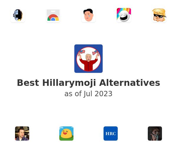 Best Hillarymoji Alternatives