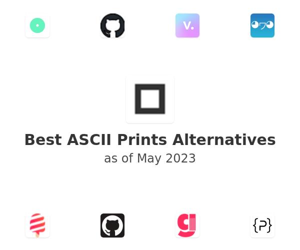 Best ASCII Prints Alternatives