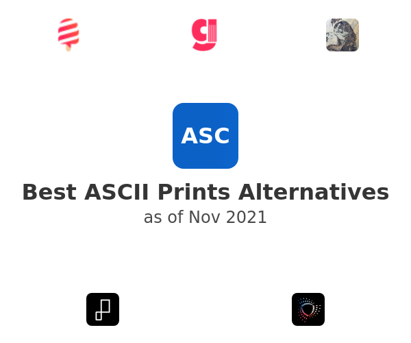 Best ASCII Prints Alternatives