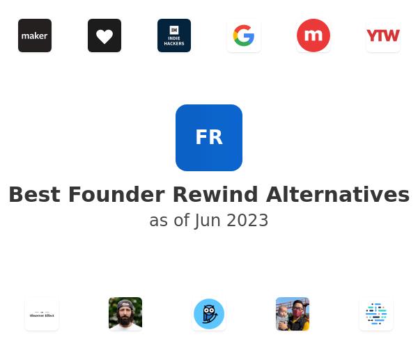 Best Founder Rewind Alternatives