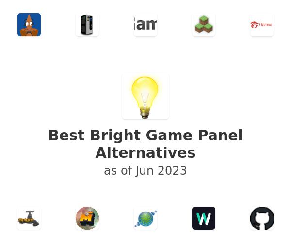 Best Bright Game Panel Alternatives
