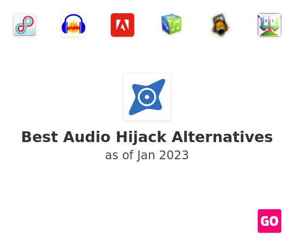 Best Audio Hijack Alternatives