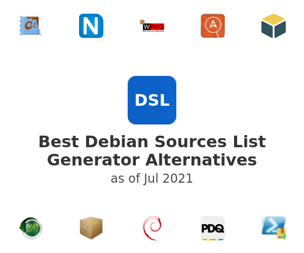 Best Debian Sources List Generator Alternatives