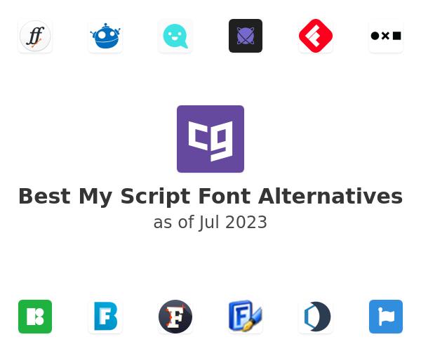 Best My Script Font Alternatives