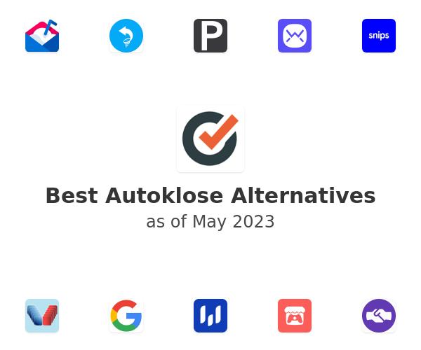 Best Autoklose Alternatives
