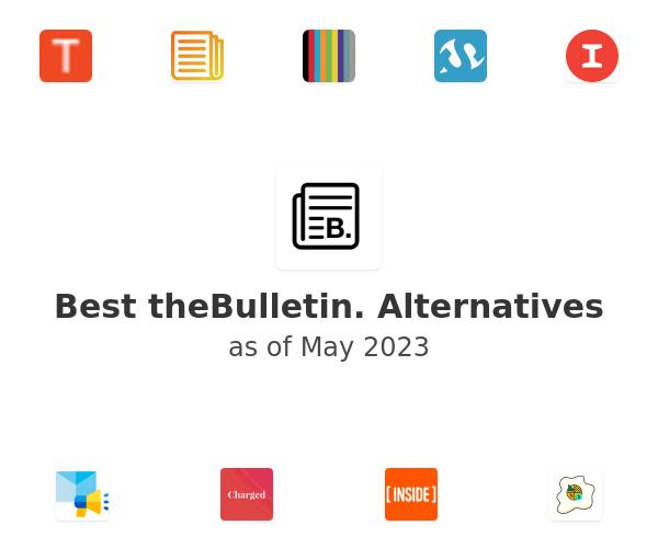 Best theBulletin. Alternatives