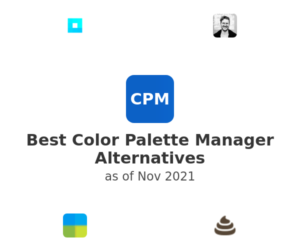 Best Color Palette Manager Alternatives