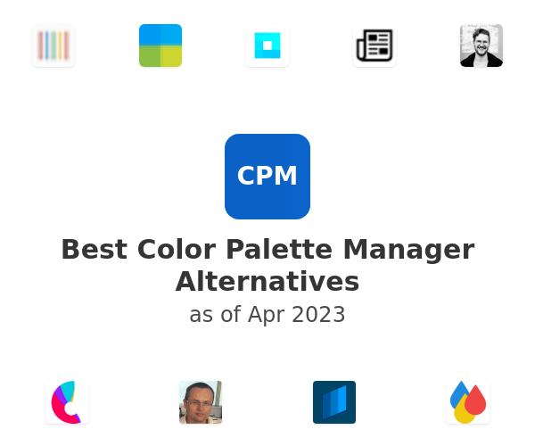 Best Color Palette Manager Alternatives
