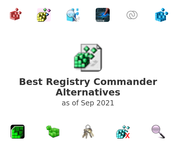 Best Registry Commander Alternatives