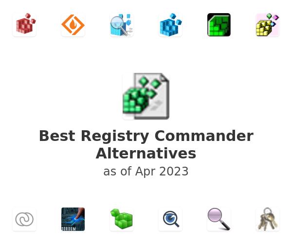 Best Registry Commander Alternatives