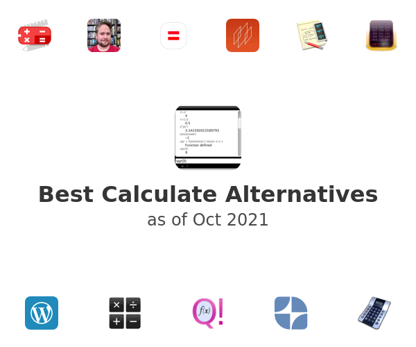 Best Calculate Alternatives