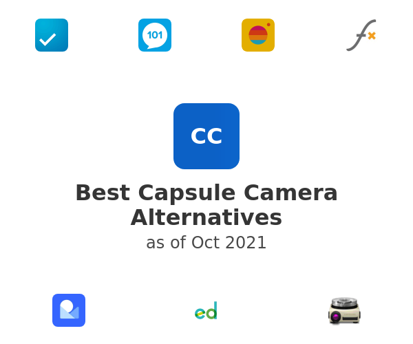 Best Capsule Camera Alternatives