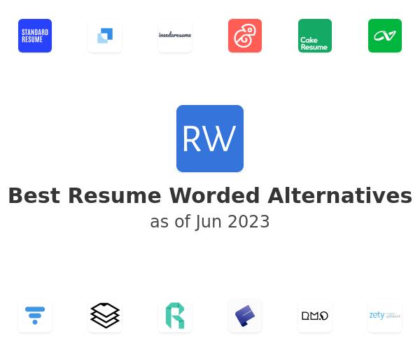 Best Resume Worded Alternatives