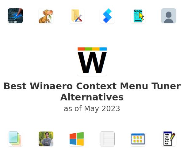 Best Winaero Context Menu Tuner Alternatives