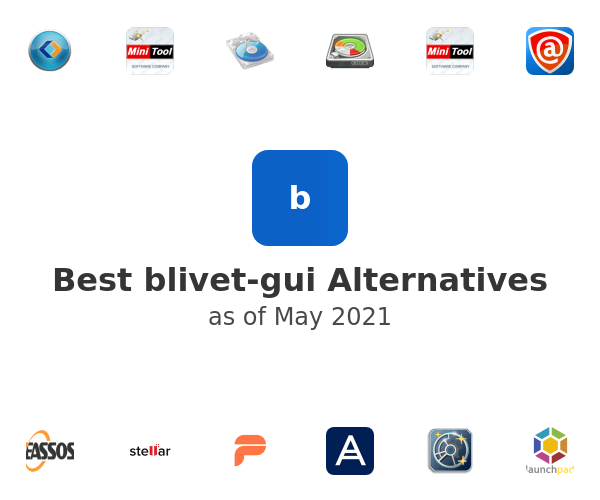 Best blivet-gui Alternatives