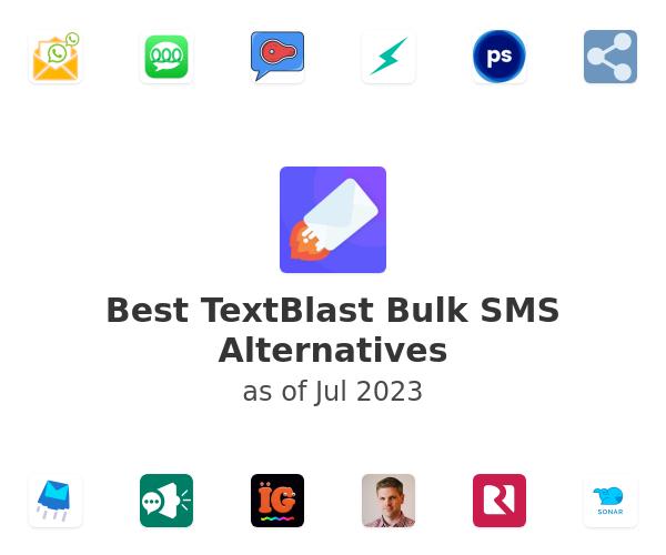 Best TextBlast Bulk SMS Alternatives