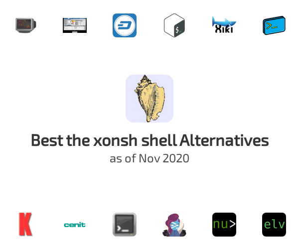 Best the xonsh shell Alternatives