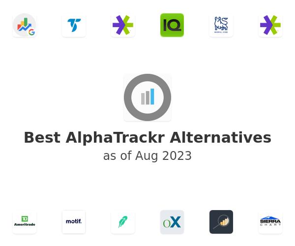 Best AlphaTrackr Alternatives