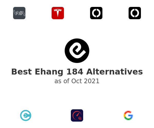 Best Ehang 184 Alternatives