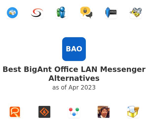Best BigAnt Office LAN Messenger Alternatives