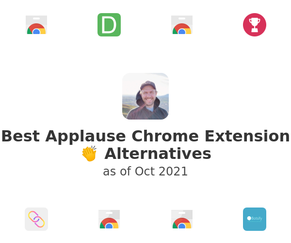 Best Applause Chrome Extension 👏 Alternatives