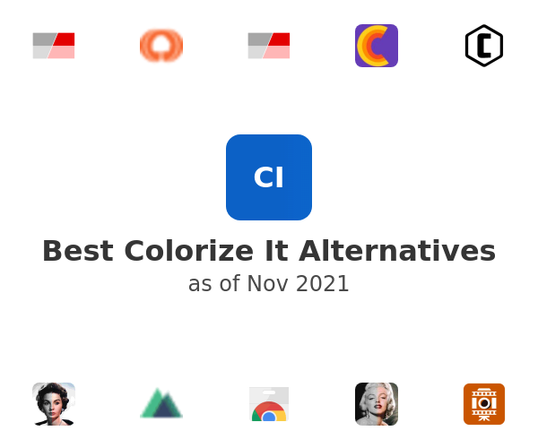 Best Colorize It Alternatives