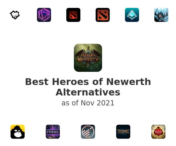Best Heroes of Newerth Alternatives