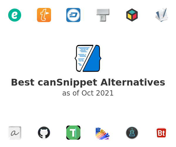 Best canSnippet Alternatives