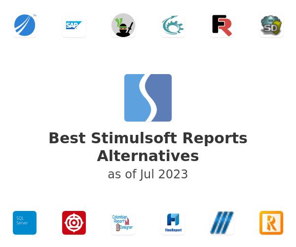 Best Stimulsoft Reports Alternatives