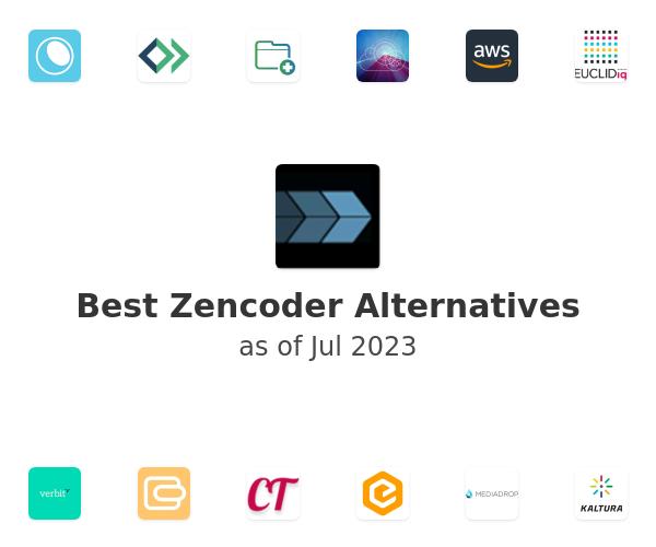 Best Zencoder Alternatives