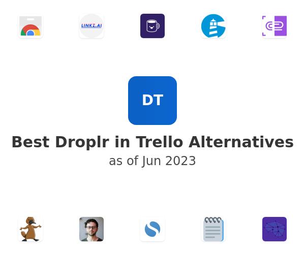 Best Droplr in Trello Alternatives