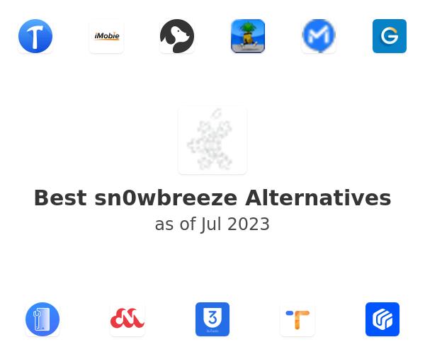 Best sn0wbreeze Alternatives