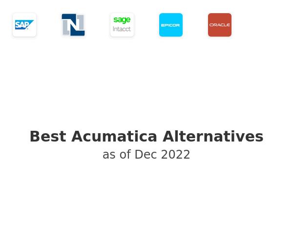 Best Acumatica ERP Alternatives