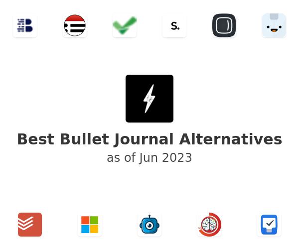 Best Bullet Journal Alternatives
