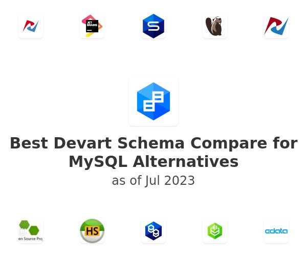 Best  Devart Schema Compare for MySQL Alternatives