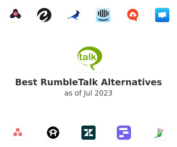 Best RumbleTalk Alternatives