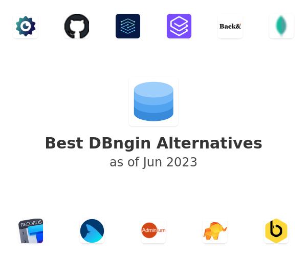 Best DBngin Alternatives