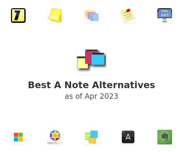Best A Note Alternatives